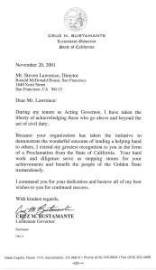 Bustamante Letter