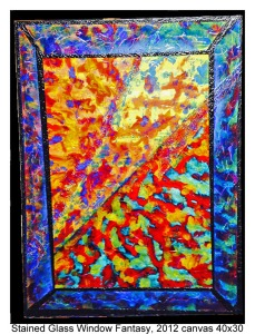 Stained Glass Window Fantasy